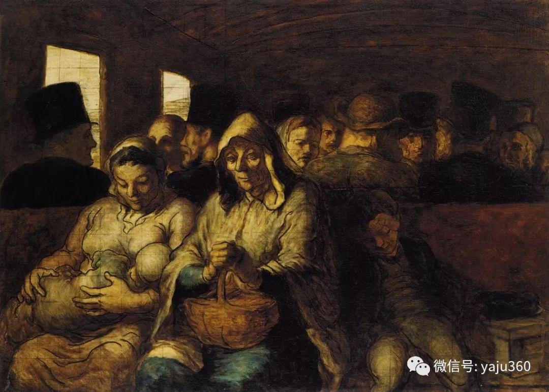油画世界:法国Honoré Daumier油画作品插图3