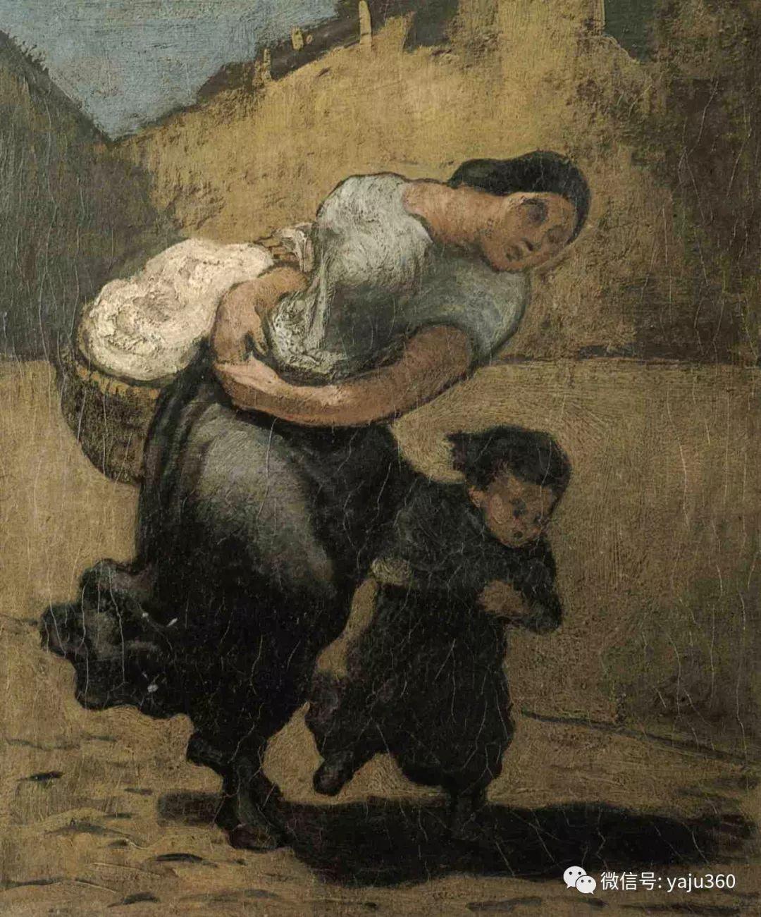 油画世界:法国Honoré Daumier油画作品插图5