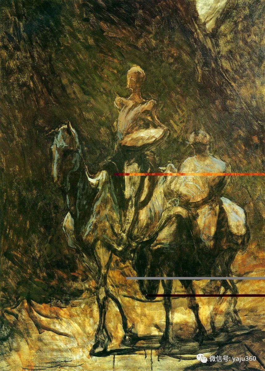 油画世界:法国Honoré Daumier油画作品插图9