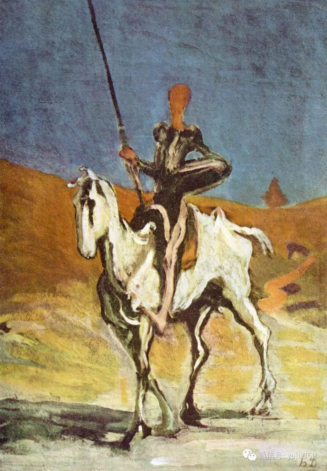 油画世界:法国Honoré Daumier油画作品插图11