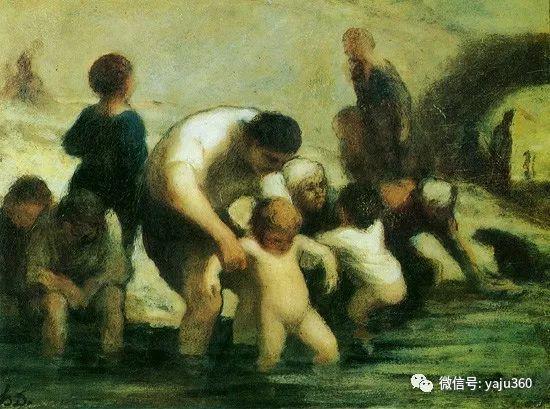 油画世界:法国Honoré Daumier油画作品插图13