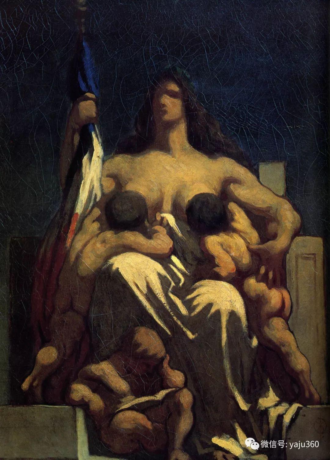 油画世界:法国Honoré Daumier油画作品插图15