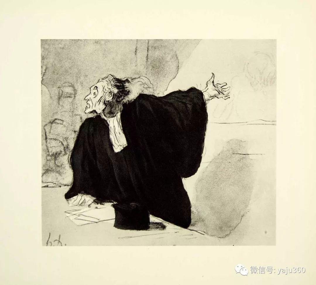 油画世界:法国Honoré Daumier油画作品插图17