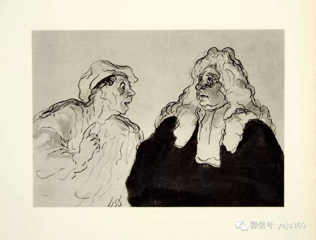油画世界:法国Honoré Daumier油画作品插图19