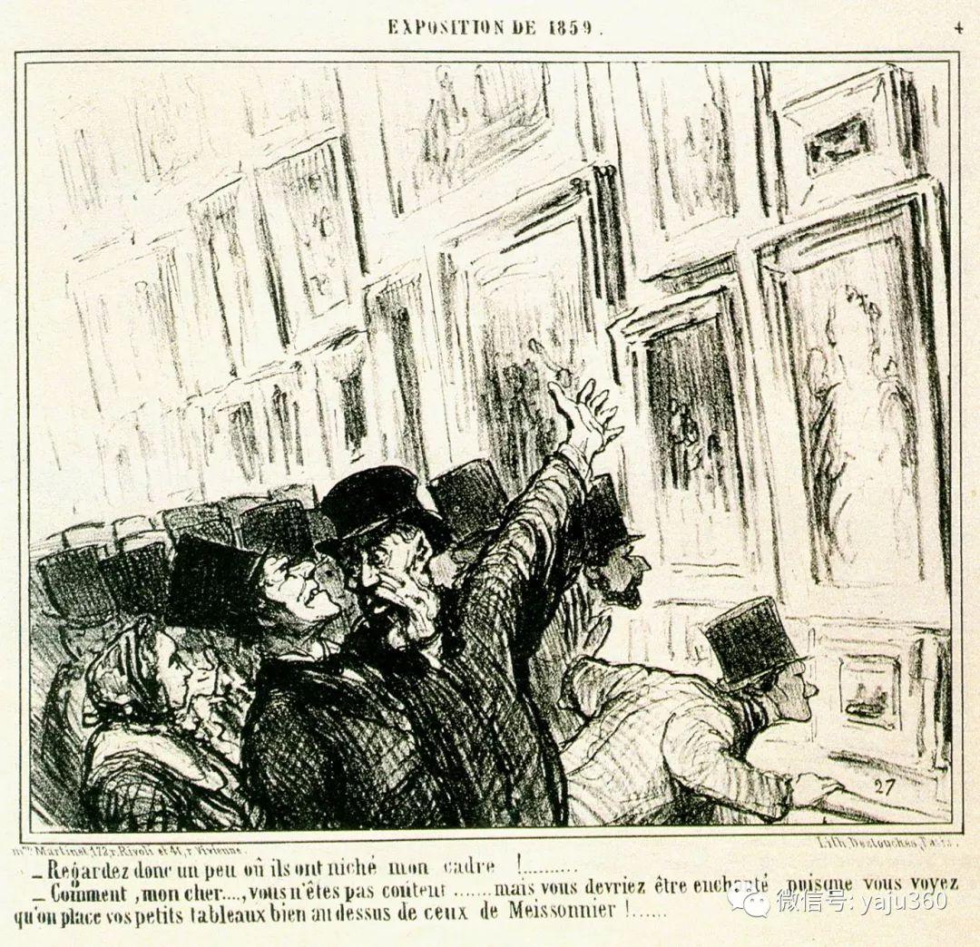 油画世界:法国Honoré Daumier油画作品插图21