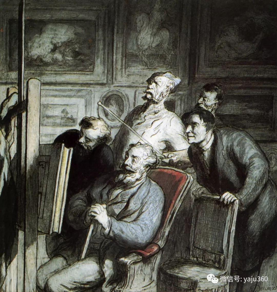 油画世界:法国Honoré Daumier油画作品插图23