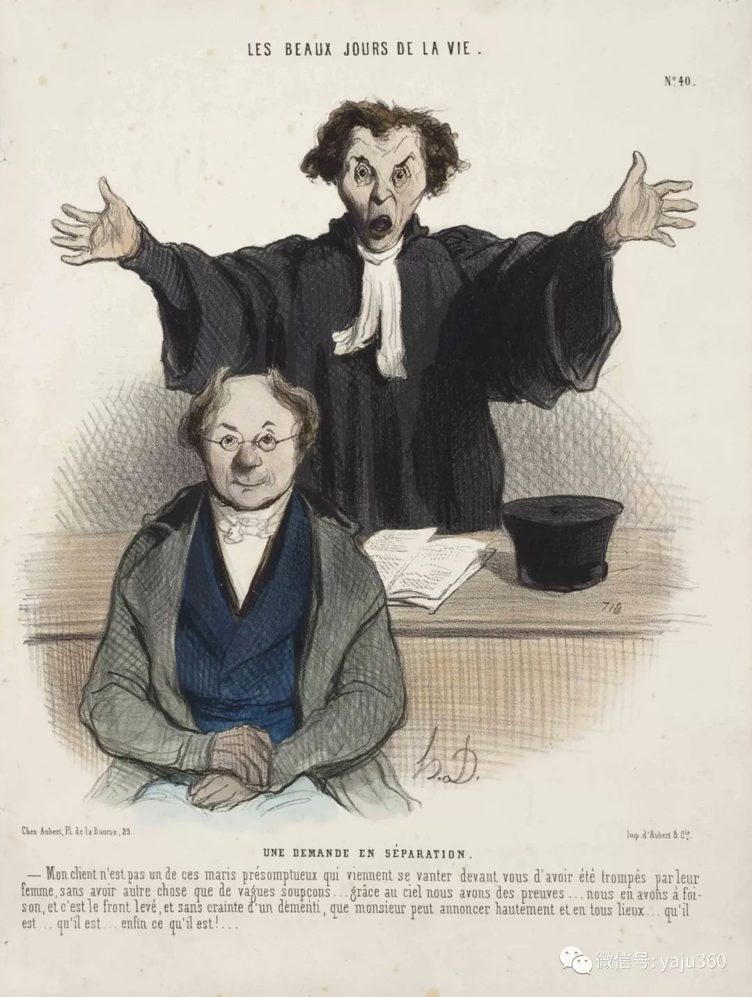 油画世界:法国Honoré Daumier油画作品插图25