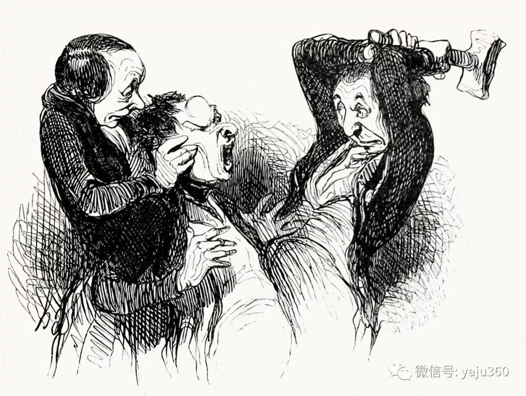 油画世界:法国Honoré Daumier油画作品插图29