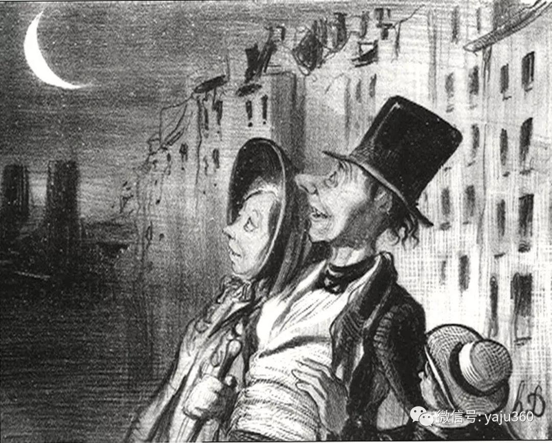 油画世界:法国Honoré Daumier油画作品插图31