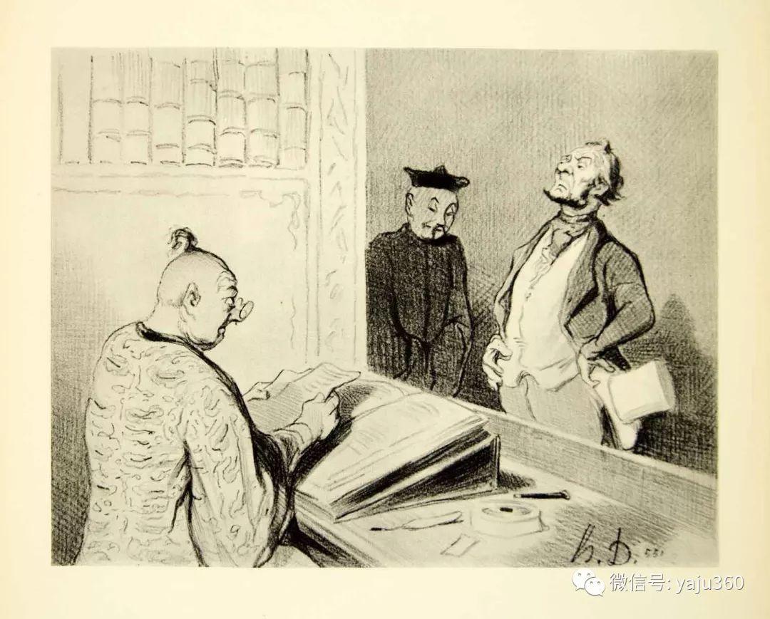 油画世界:法国Honoré Daumier油画作品插图33