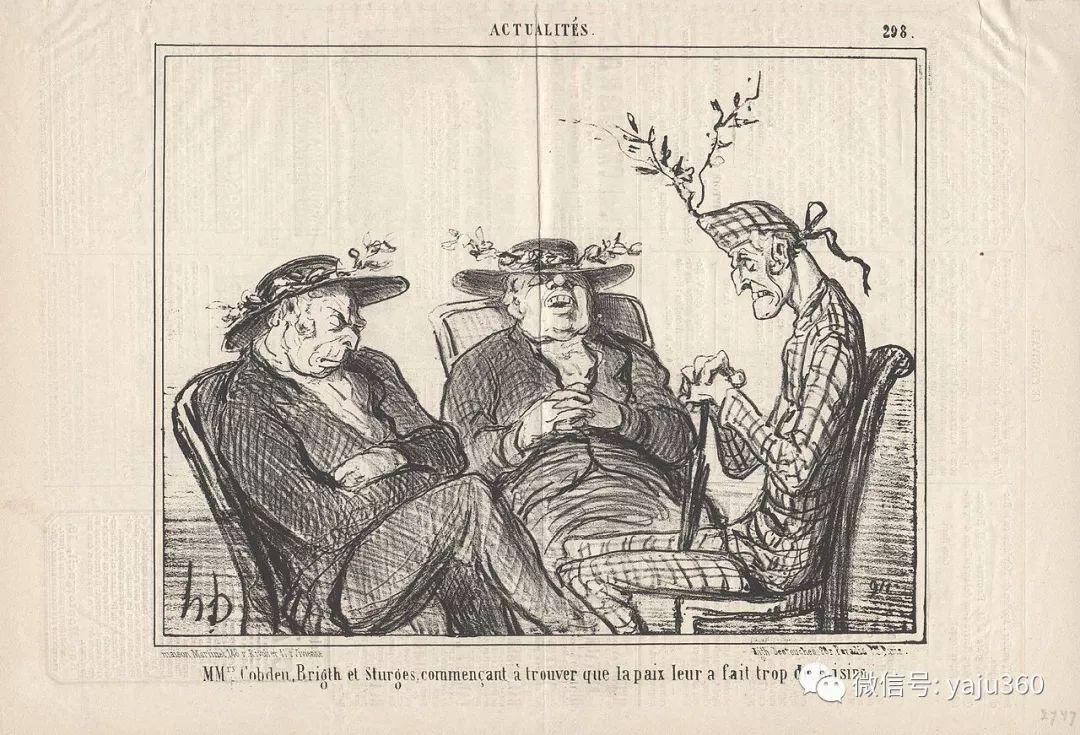 油画世界:法国Honoré Daumier油画作品插图35