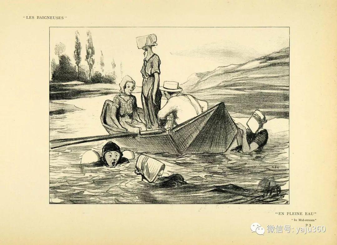 油画世界:法国Honoré Daumier油画作品插图37