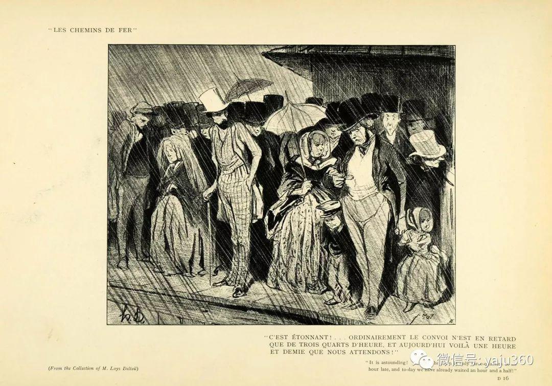 油画世界:法国Honoré Daumier油画作品插图41