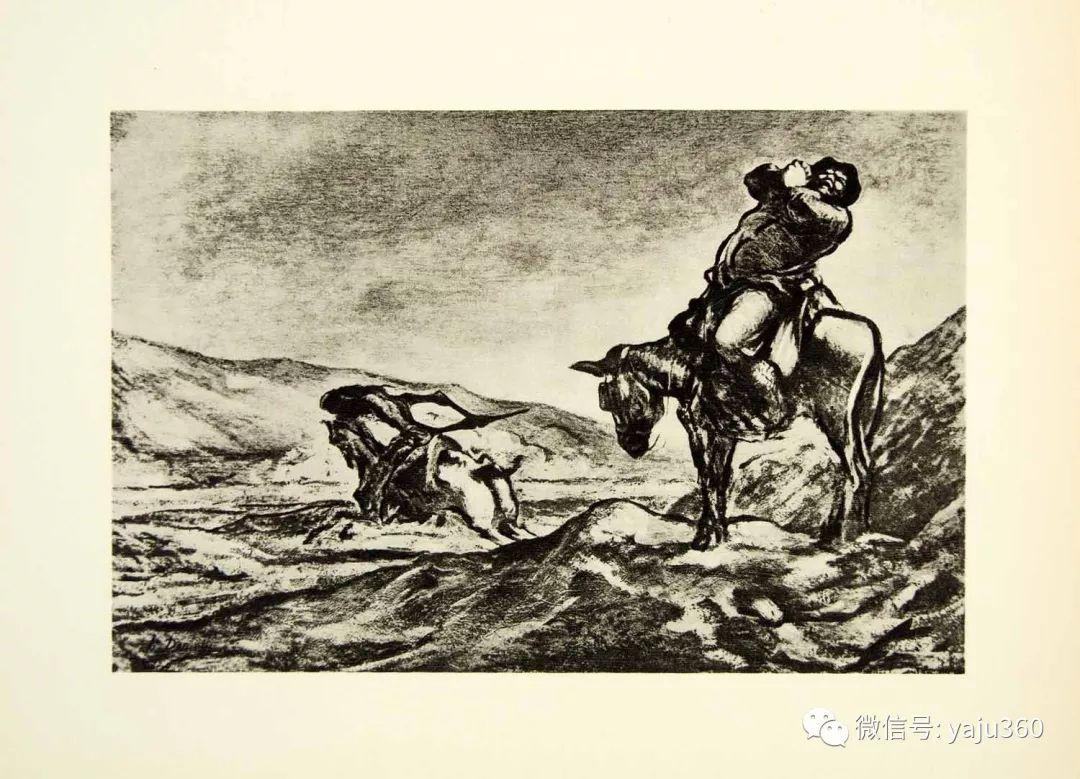 油画世界:法国Honoré Daumier油画作品插图43