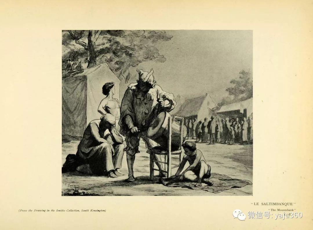 油画世界:法国Honoré Daumier油画作品插图45