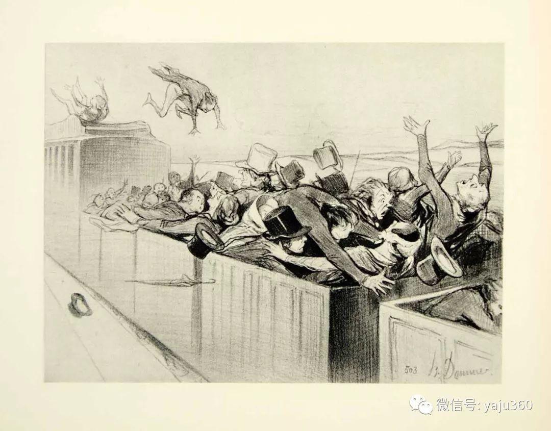 油画世界:法国Honoré Daumier油画作品插图47