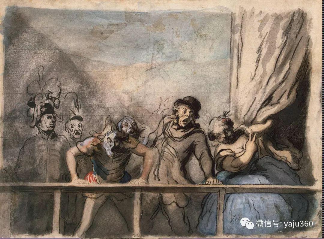 油画世界:法国Honoré Daumier油画作品插图49