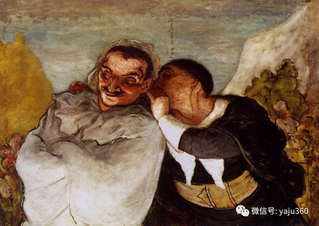 油画世界:法国Honoré Daumier油画作品插图51