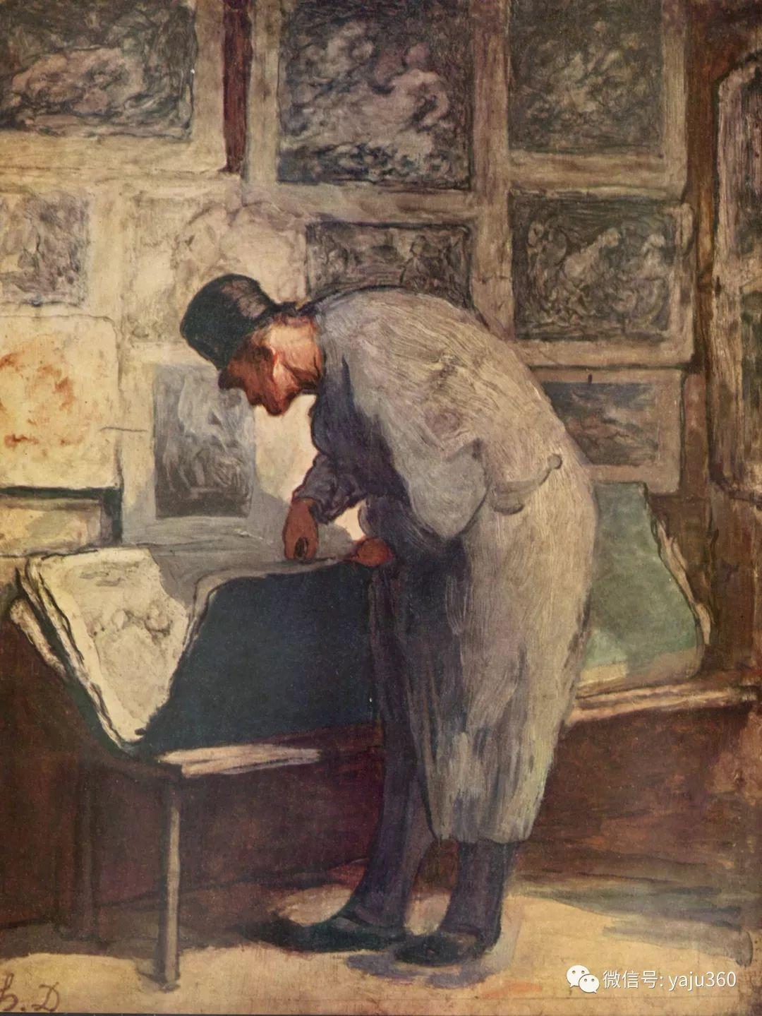 油画世界:法国Honoré Daumier油画作品插图53
