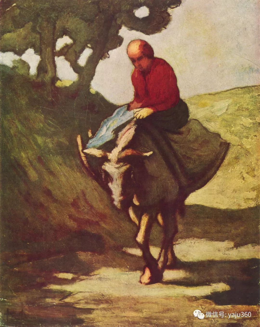 油画世界:法国Honoré Daumier油画作品插图55