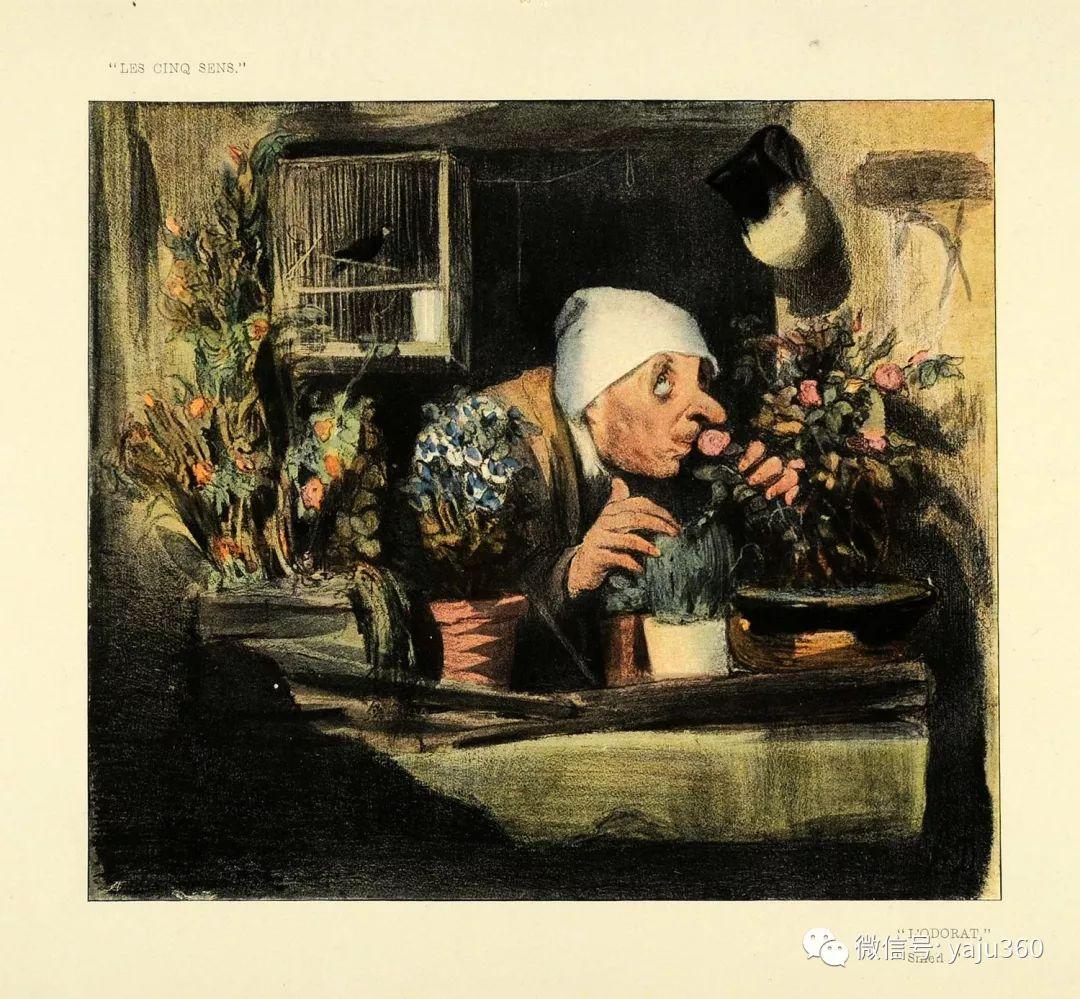 油画世界:法国Honoré Daumier油画作品插图57