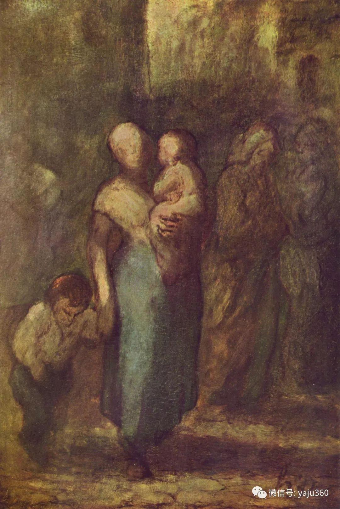 油画世界:法国Honoré Daumier油画作品插图59