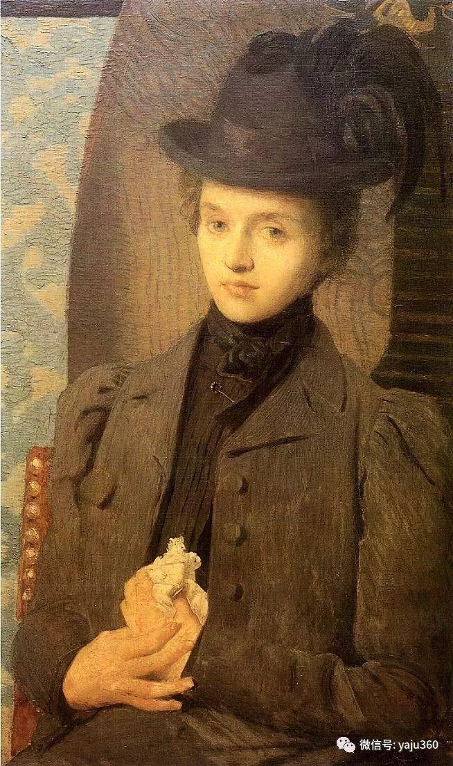 油画世界:美国印象派画家朱利安·奥尔登·威尔油画作品插图11