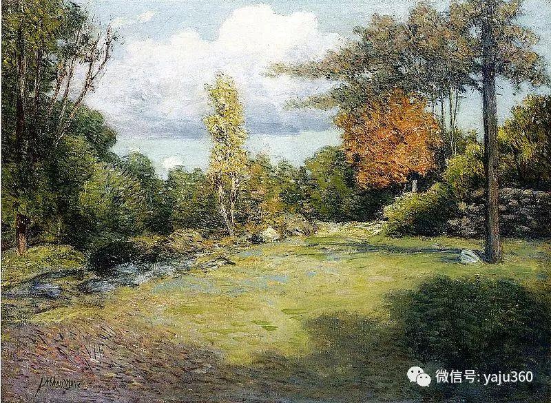 油画世界:美国印象派画家朱利安·奥尔登·威尔油画作品插图16