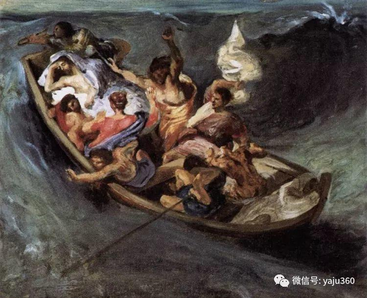 油画世界:法国画家Eugène Delacroix油画作品欣赏插图5