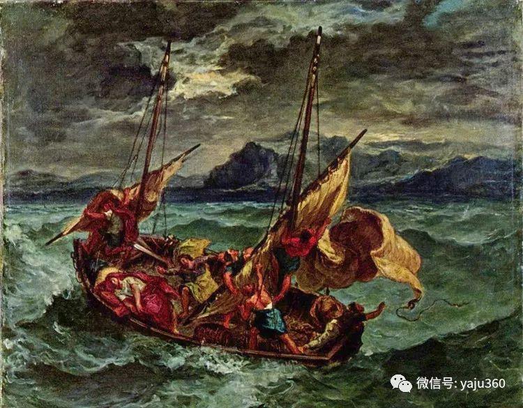 油画世界:法国画家Eugène Delacroix油画作品欣赏插图7