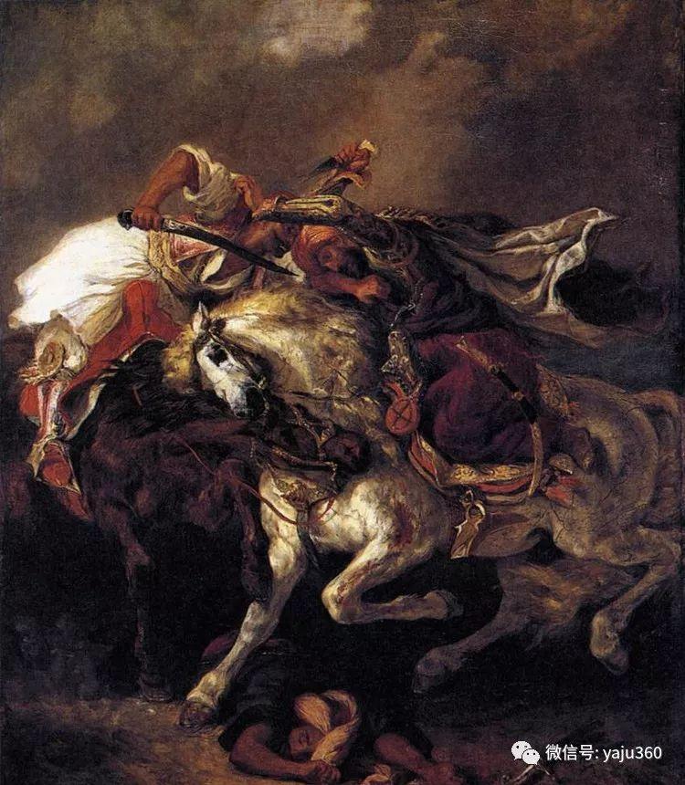 油画世界:法国画家Eugène Delacroix油画作品欣赏插图9
