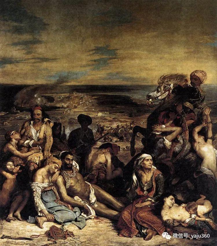 油画世界:法国画家Eugène Delacroix油画作品欣赏插图11