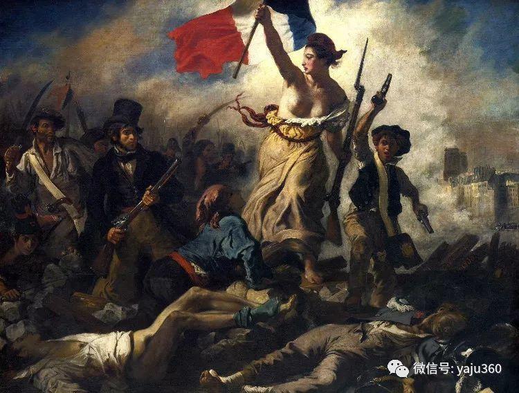 油画世界:法国画家Eugène Delacroix油画作品欣赏插图17