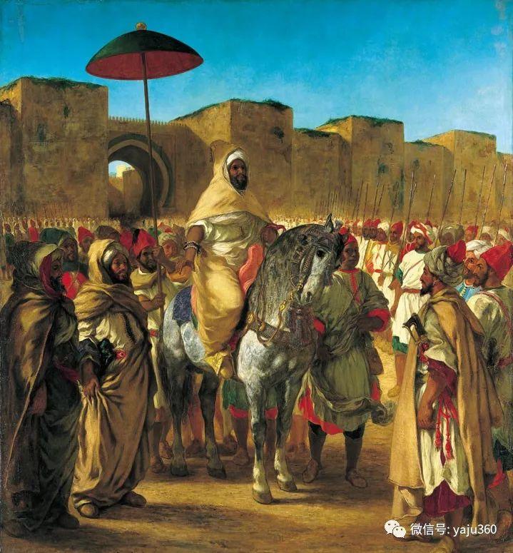 油画世界:法国画家Eugène Delacroix油画作品欣赏插图19