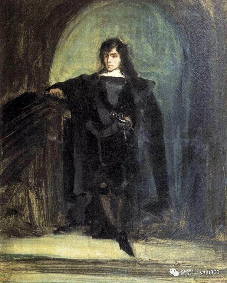 油画世界:法国画家Eugène Delacroix油画作品欣赏插图23