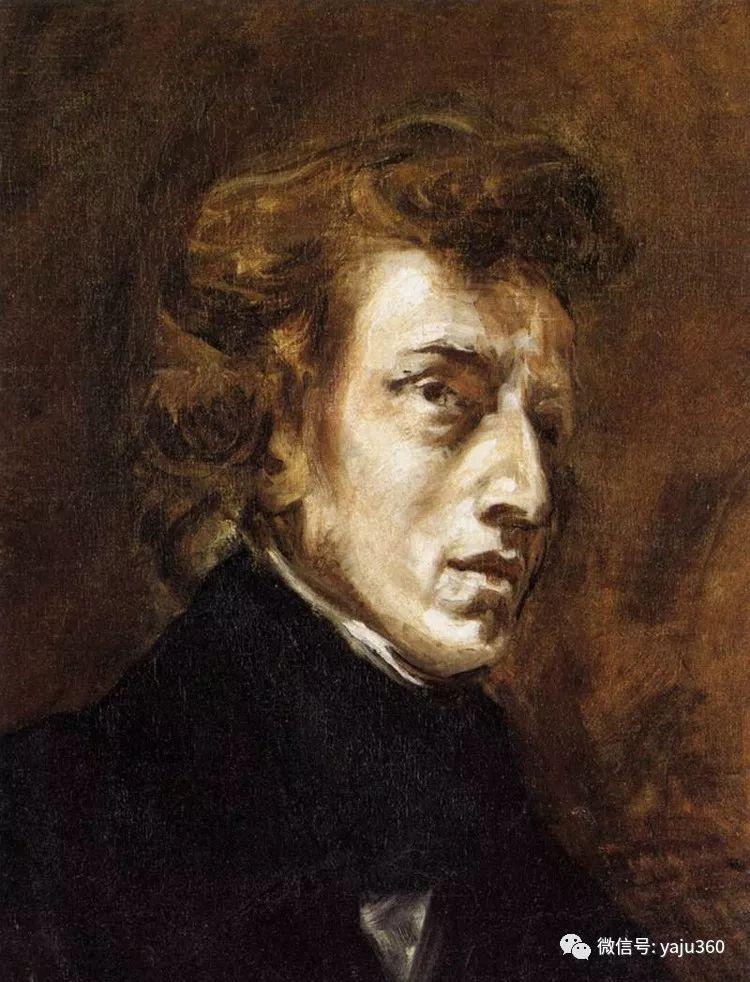 油画世界:法国画家Eugène Delacroix油画作品欣赏插图25