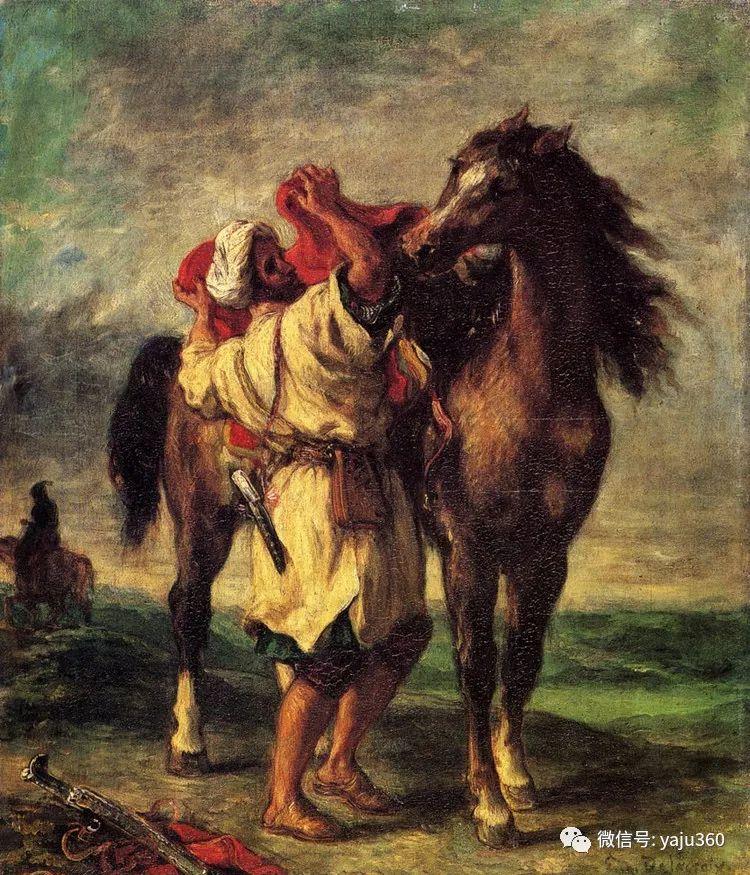油画世界:法国画家Eugène Delacroix油画作品欣赏插图29
