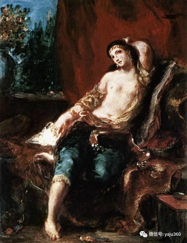 油画世界:法国画家Eugène Delacroix油画作品欣赏插图31