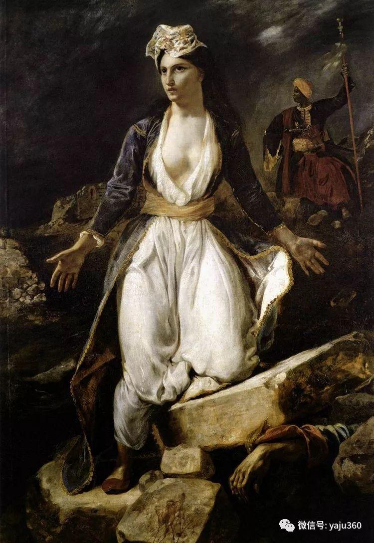 油画世界:法国画家Eugène Delacroix油画作品欣赏插图37