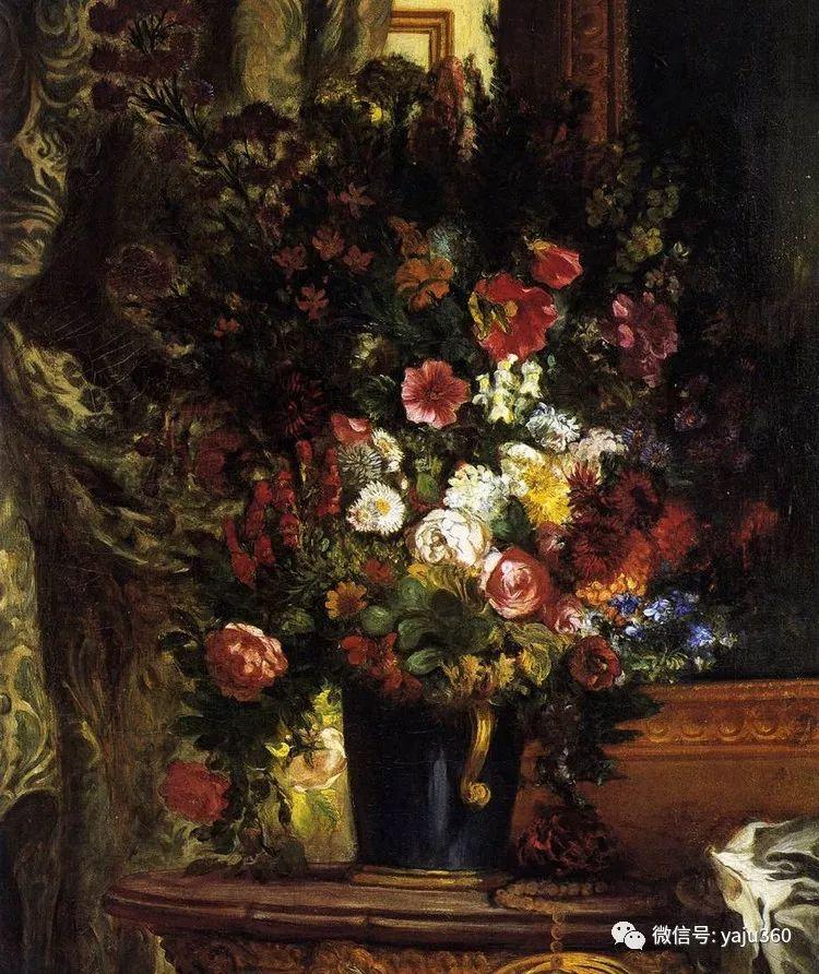 油画世界:法国画家Eugène Delacroix油画作品欣赏插图39