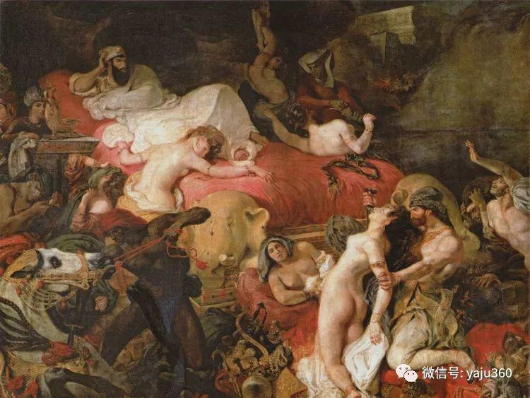 油画世界:法国画家Eugène Delacroix油画作品欣赏插图41