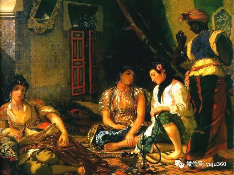 油画世界:法国画家Eugène Delacroix油画作品欣赏插图47