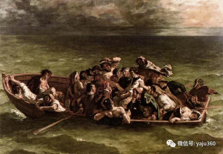 油画世界:法国画家Eugène Delacroix油画作品欣赏插图57