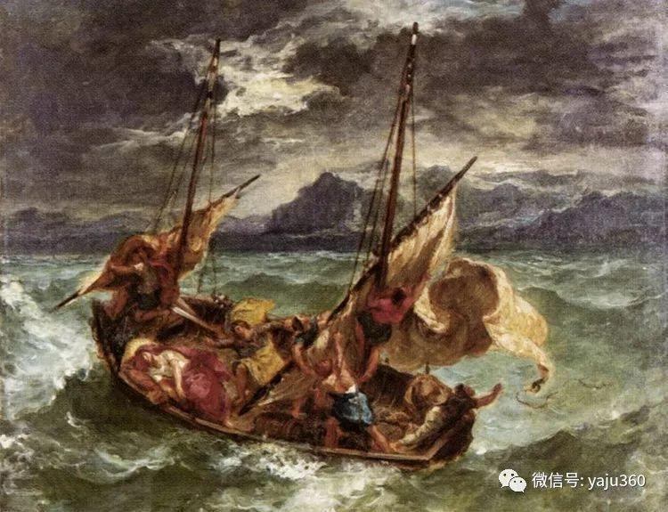 油画世界:法国画家Eugène Delacroix油画作品欣赏插图59