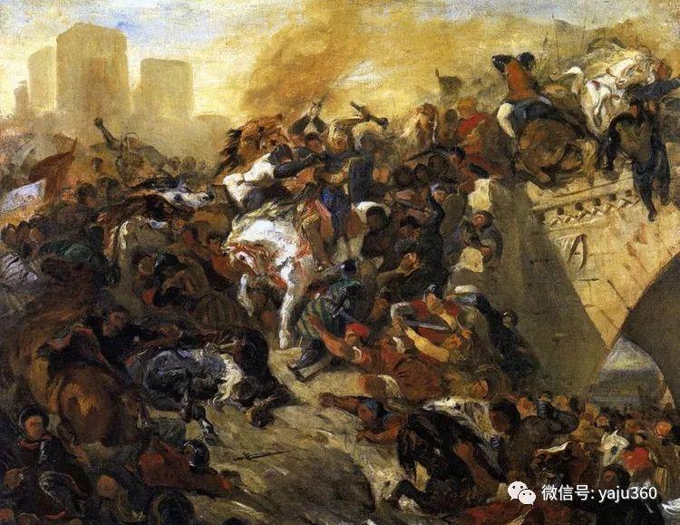 油画世界:法国画家Eugène Delacroix油画作品欣赏插图63
