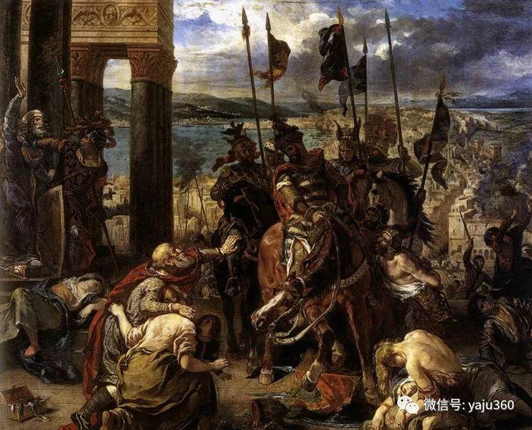 油画世界:法国画家Eugène Delacroix油画作品欣赏插图65