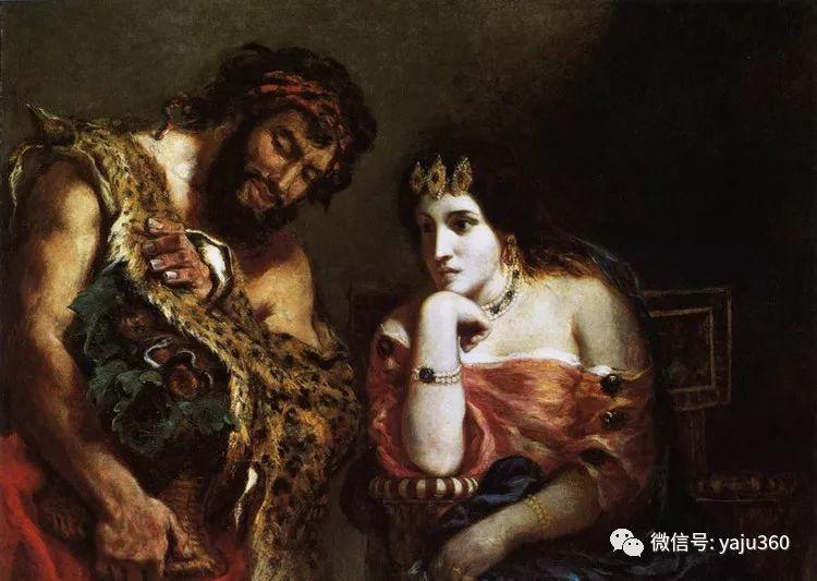 油画世界:法国画家Eugène Delacroix油画作品欣赏插图69