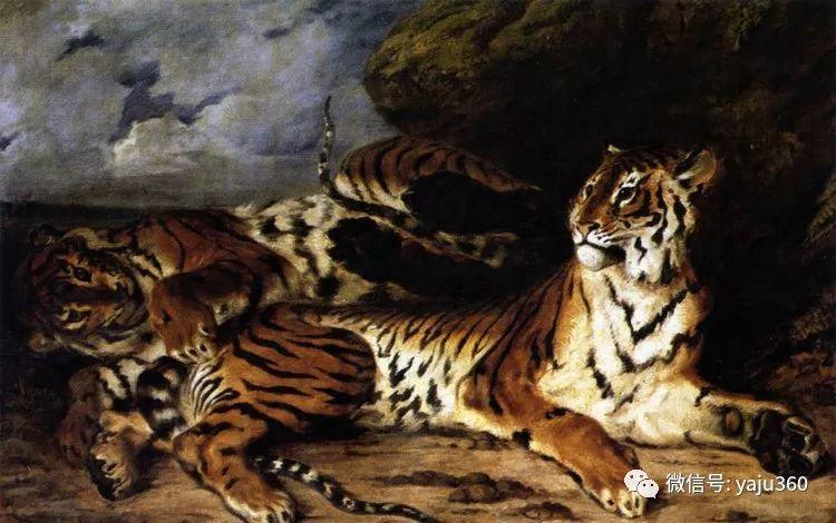 油画世界:法国画家Eugène Delacroix油画作品欣赏插图71