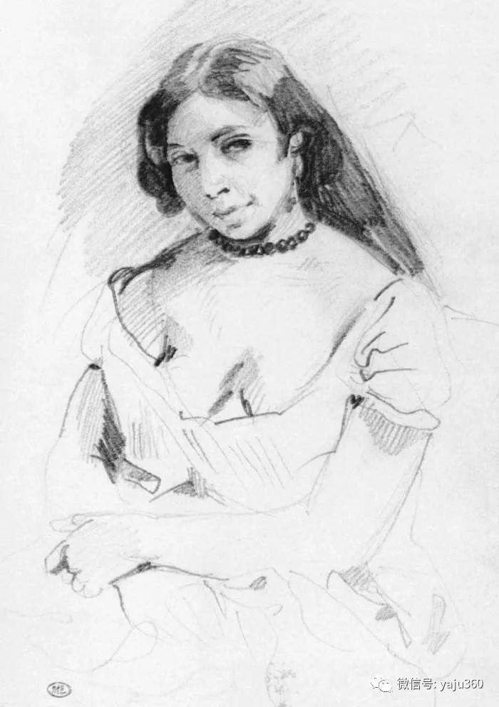 油画世界:法国画家Eugène Delacroix油画作品欣赏插图89