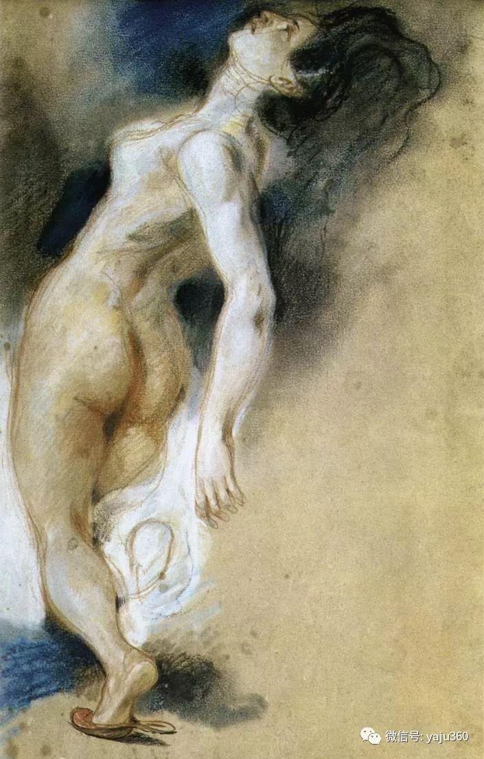 油画世界:法国画家Eugène Delacroix油画作品欣赏插图93